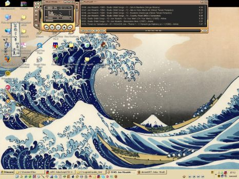 My desktop for beginning 2007 by Adeu