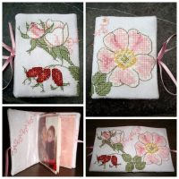 Book (photo-holder) wild rose by Vetriz