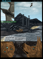 D-Game Chap one SNOW page 1 by Rans-green-moon