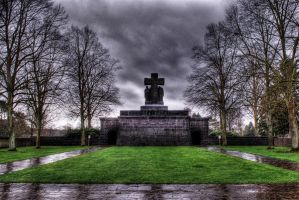 Graveyard Entrance HDR by creativecircle