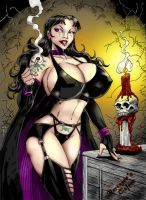 Madam Darkness by THE-Darcsyde