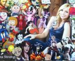 Tara Strong's Voice Acting Characters by Chrismilesprower