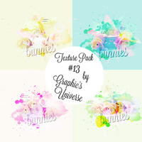 Texture Pack #13 by Bunnies Graphic's Universe by GraphicsUniverse