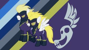 Surprise and Surprise in the Shadowbolts by TheSurprisePony