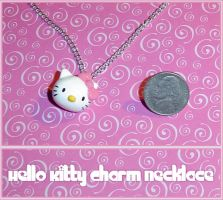 Hello Kitty Charm Necklace by YellerCrakka