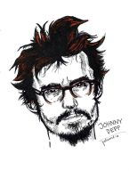 Johnny Depp by Pebiart