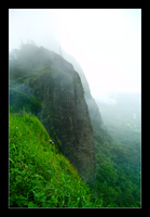 Pali Lookout by hoboinaschoolbus