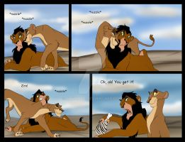 Scar and Zira by Savu0211