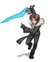 Squall Leonhart by hybridmink