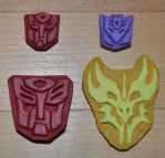 Transformers Insignia Painted by bananafire