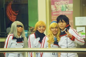 Infinite Stratos Team by therealcarlosliao