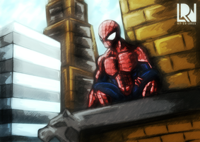 Spiderman by Kanukling