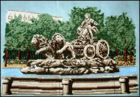 Cibeles Fountain by 7delsiete