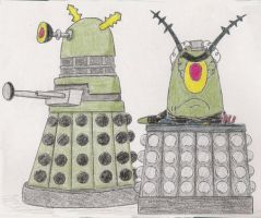 Dalek creator, Plankton by Carthoris