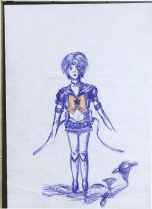 In other style - Sailor Uranus