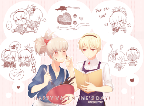 Leokumi Valentine's Day by popseacle