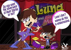 TLH - LaLa - Luna and Little Moon (Dig) by Thuledrawer09