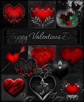 Scrap kit Happy Valentines Day by DiZa-74
