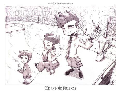 Jake Long -Me and My Friends- by DonPapi