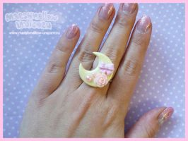Charming Moon ring by Irudisu