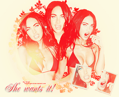 Megan Fox Lay 2 by LadyAngiexD