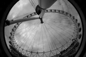 the london fish eye by blackandwhitexsjado