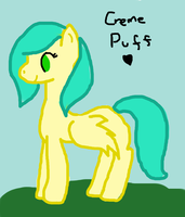 *Art Trade 1/2* Creme Puff as an Adult by XxBlue-ThunderxX