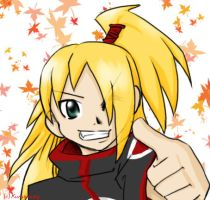 ::HAPPY::-Deidara by KuroiMezzy