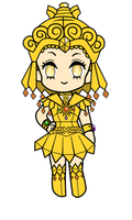 Sailor Galaxia (Animated) by MilkPeach