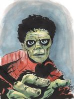 Michael Jackson Thriller by TreeBeerdy