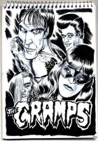 The Cramps by protozoario