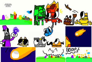 Mixels - The Attacking - Part 1 by Darkspine16647