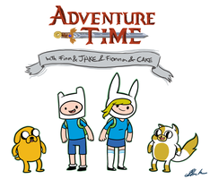 Adventure Time keychain designs by caycowa