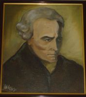 Immanuel Kant oil, canvas by CyberII