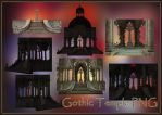 Gothic Temple PNG by KlaraKay