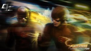 The Flash Out of Time by superjabba425