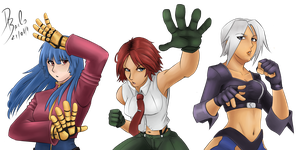 The king of fighters best team by SatyHarvenheit
