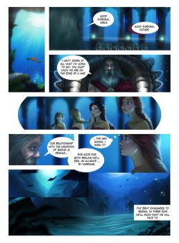 The Little Mermaid, page 10 (new coloring) by MrRabLo