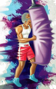 Punching Bag by Miikey116