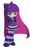 stocking pixel art by megadrivesonic