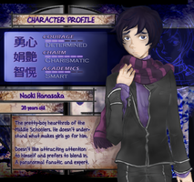 +Ao Oni+ Character Profile: NAOKI by foxy-kyuubi