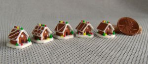 ~*~ The 2013 Mini Gingerbread House Series. ~*~ by Kyle-Lefort