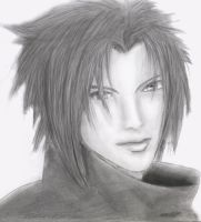 Sasuke Uchiha - attempt at realism drawing by JamesUchiha