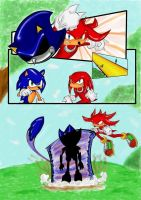 Sonic Vs Metallix by Azel by MamboCat