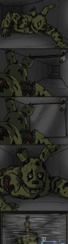 Springtrap and the vents by Leda456