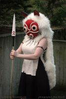 Princess Mononoke Cosplay - Anger of the Wolf Clan by HylianJean