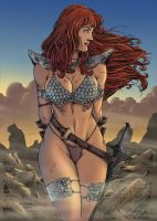 Red Sonja by Abrahans