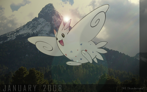 TOGEKISS, the january pokemon by Thunderwest