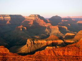 Grand Canyon at Sunset II by Nevma