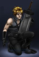 02 CLOUD STRIFE by viciousSHADi
